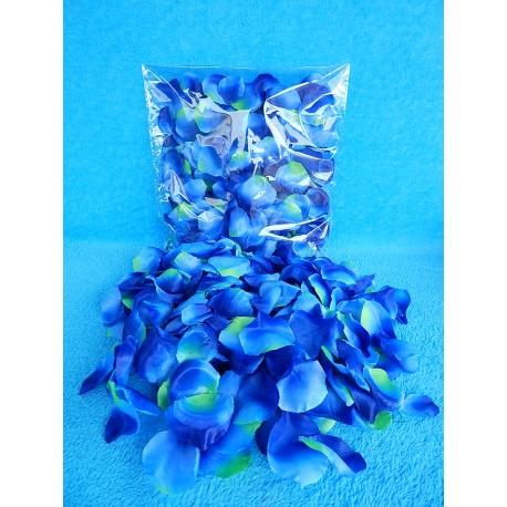 Лепестки роз (синие)