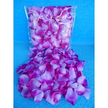 Лепестки роз (сиреневые)