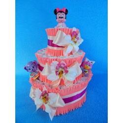 Торт из памперсов для девочки (ПМ-0027451)