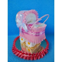 Коляска из памперсов для девочки (ПМ-0027467)