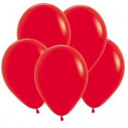 Шар 5/13см Декоратор CHERRY RED  (10шт.)