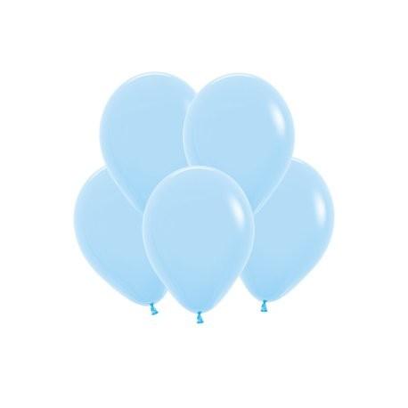 Шар 5/13см Пастель LIGHT BLUE  (10шт.)