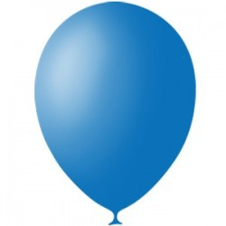Шар 12/30см Пастель DARK BLUE (10шт.)
