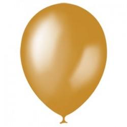 Шар 12/30см Металлик GOLD (10шт)