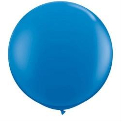 Шар латекс 36/91см пастель DARK BLUE (1шт.)