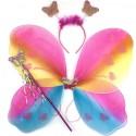 Крылья бабочки радужные (набор 3в1)