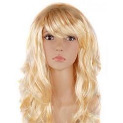 """Парик длинный """"Блондинка"""" волнистый волос"""