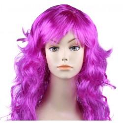"""Парик длинный """"Фиолетовый"""" волнистый волос"""