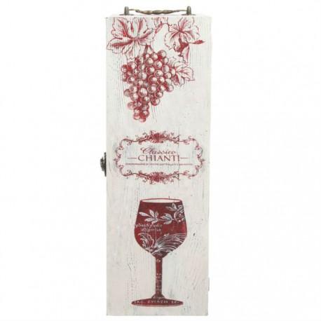 """Коробка для вина люск """"Виноградная лоза"""" 37х12х12"""