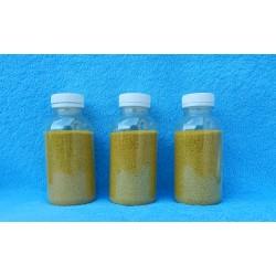 Цветной песок 500гр (жёлтый)