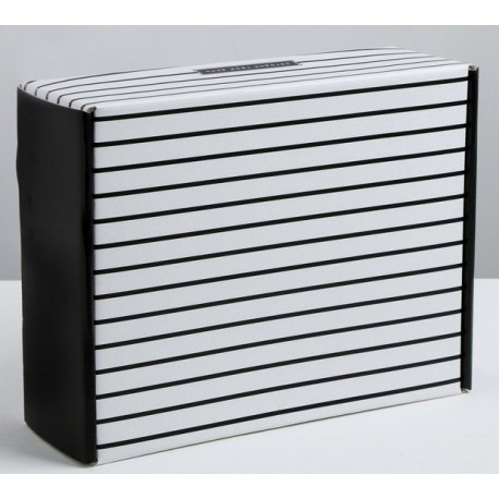Складная коробка «Сегодня твой день», 27 × 9 × 21 см